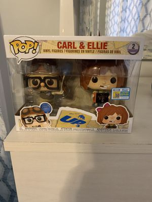 Carl and Ellie Funko Pop sdcc Sticker Funko Pop for Sale in Rowland Heights, CA