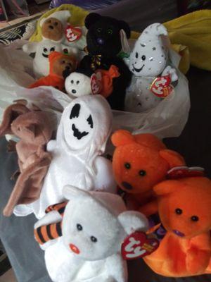 Halloween Ty Beanie Babies for Sale in Fort Pierce, FL