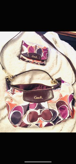Original coach purse and wallet for Sale in Fontana, CA