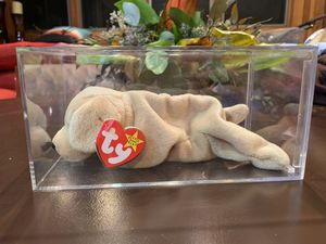 Ty Beanie Baby Fetch Golden Retriever Dog February 4, 1997 tag for Sale in Arlington Heights, IL