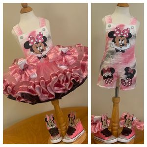 Custom Overalls with matching tutu for Sale in Philadelphia, PA
