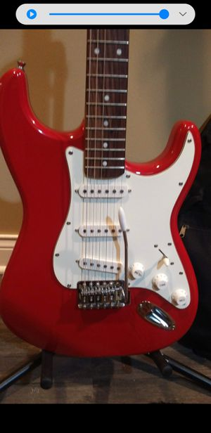 Starcaster Fender electric guitar with bag for Sale in Niles, IL