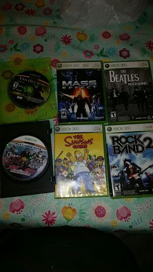 XBOX 360 games for Sale in North Richland Hills, TX