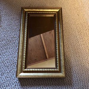 """13"""" gold wall mirror for Sale in San Diego, CA"""
