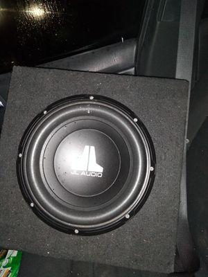 12 jl Audio seminueva El presio es firme 100 for Sale in Dallas, TX
