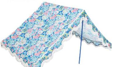 Lilly Pulitzer beach tent