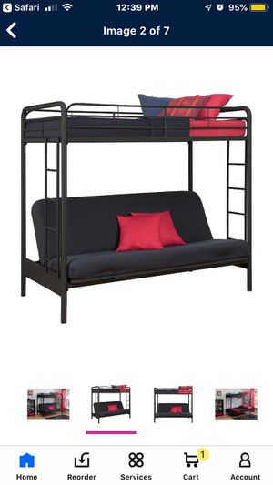 Futon bunk bed for Sale in Long Beach, CA