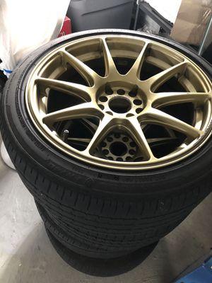 """XXR Wheels 17"""" $450 OBO for Sale in Norwood, MA"""