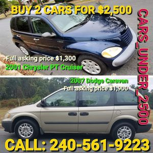 2007 Dodge Caravan for Sale in Forest Heights, MD