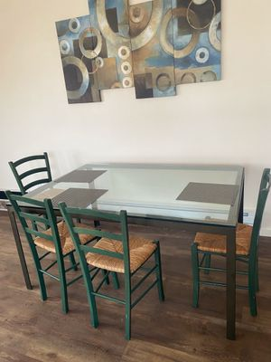 Heavy Heavy Glass Table for Sale in Tacoma, WA