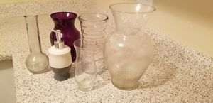 FREE- Flower Vases for Sale in Moreno Valley, CA