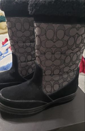 Coach Sherman Signature Boots for Sale in Cedar Hill, TX