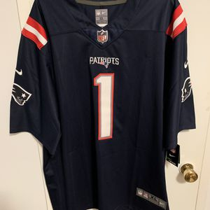 Cam Newton #1 Black New England Patriots Jersey for Sale in Sylmar, CA