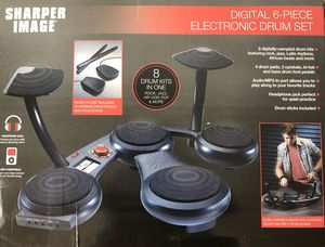 Sharper Image Electronic Drum Set for Sale in Brea, CA