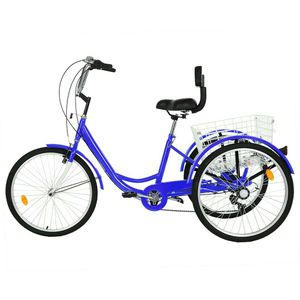 """Adult Tricycle 24"""" 1/7 Speed 3 Wheel for Sale in Rancho Cucamonga, CA"""