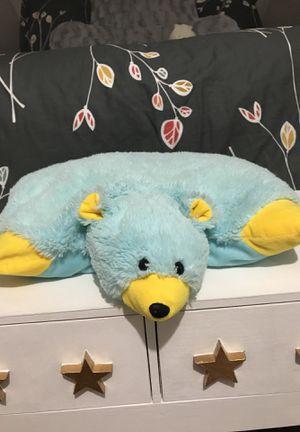 Blue Polar Bear Pillow Plush for Sale in Volo, IL