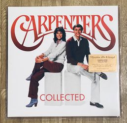 Carpenters 2LP Vinyl Records 180gram Collected - Please Observe All Pictures - List Of Songs In Pictures - New Sealed for Sale in Normandy Park,  WA