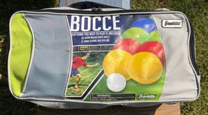 Franklin Bocce Ball Set for Sale in Cutler, CA