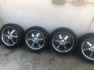 Rims & Tires - Chevy truck for Sale in Rancho Cucamonga, CA