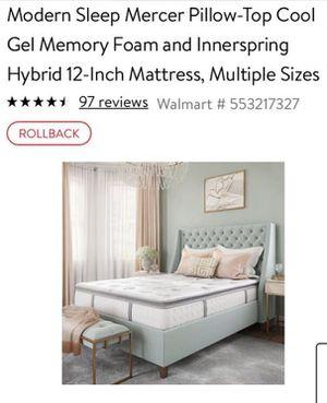 """Mercer 12"""" cooling hybrid mattress for Sale in Scottsdale, AZ"""