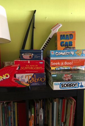 Collection of classic board games (will cut deal for all) for Sale in Brooklyn, NY