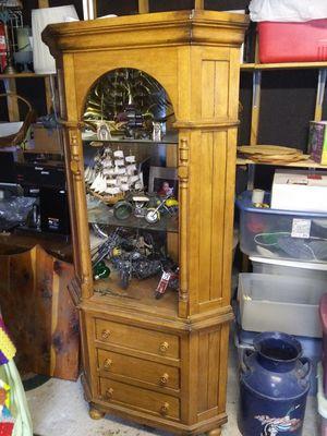 Corner display cabinet for Sale in Herrin, IL