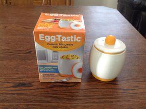 Egg-tastic Ceramic Microwave Egg Cooker for Sale in Las Vegas, NV