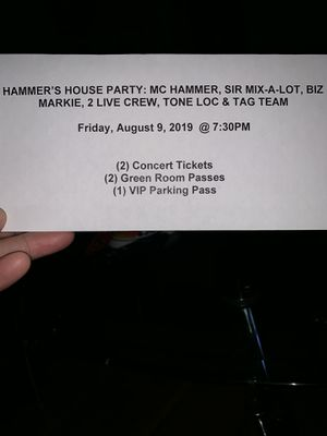 Old school rap concert tickets for Sale in Florissant, MO