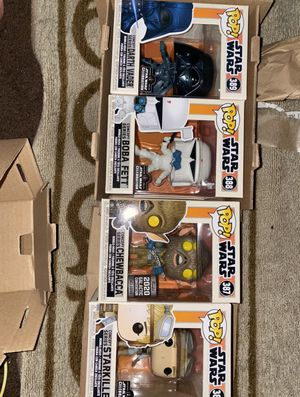 FUNKO STAR WARS CONCEPT SERIES BUNDLE for Sale in Riverside, CA