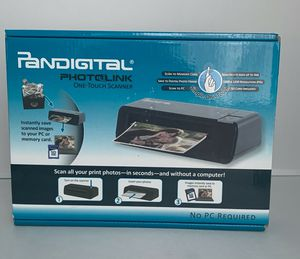 PANDIGITAL PHOTOLINK ONE-TOUCH SCANNER for Sale in Costa Mesa, CA