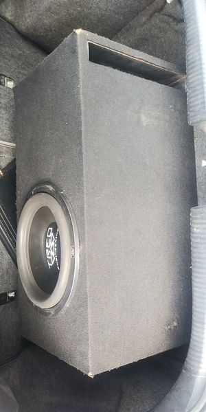 """12"""" SUBWOOFER TREO TSX 400RMS WORKS GREAT👉$50 FIRM NO BOX👈PRECIO FIRMES NO CAJA for Sale in Los Angeles, CA"""