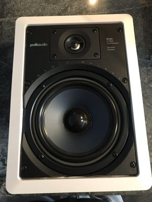 Polk Audio RC65i 6.5inch in wall speaker for Sale in Stoughton, MA