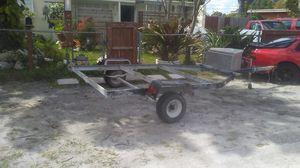 Trailer 10x7 wide Utility side by sidside trailer for Sale in North Miami, FL