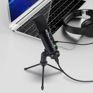 USB Microphone for Computer USB Condenser Microphone for Skype, Recordings for YouTube And More (Windows/Mac) for Sale in West Covina, CA