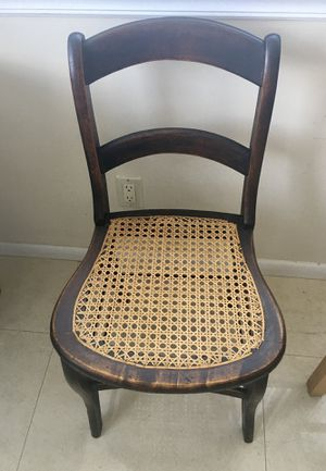 Antique Chairs. (2 ) With Cane Seats for Sale in Fort Lauderdale, FL