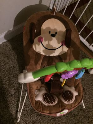 Fisher Price Deluxe Monkey bouncer for Sale in Charlotte, NC