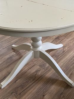 IKEA White Round Table for Sale in Gig Harbor,  WA