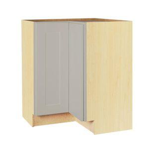 Hampton Bay Shaker Assembled 28.5x34.5x16.5 in. Corner Base Kitchen Cabinet New, slightly damaged. for Sale in Dallas, TX