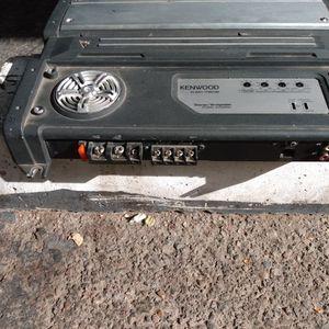 Kenwood KAC-7202 2-channel car amplifier 150 watts RMS x 2 for Sale in Phoenix, AZ