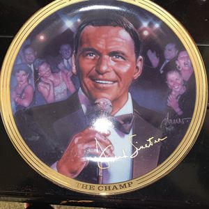 Collector Plate Frank Sinatra for Sale in Chino, CA