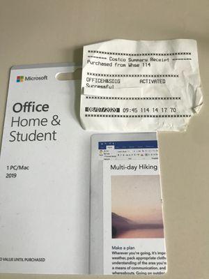 Microsoft office 2019 for Sale in Mill Creek, WA