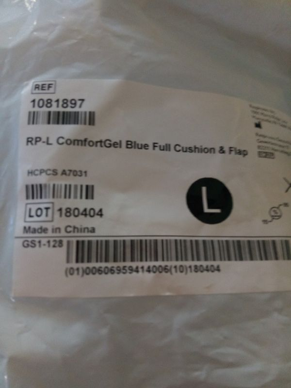 CPAP Large Full Face Cushion Mask