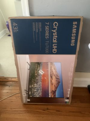 "Samsung 43"" smart tv never opened for Sale in Mount Rainier, MD"
