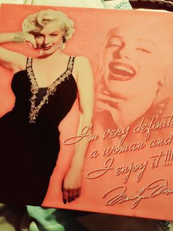 12x12 Metal MARILYN MONROE metal Wall Sign for Sale in Tempe,  AZ