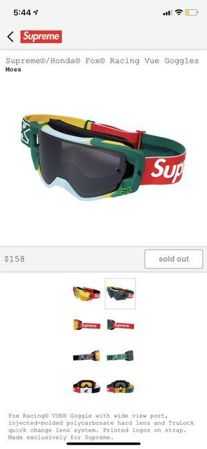 Supreme Goggles for Sale in Alexandria, VA