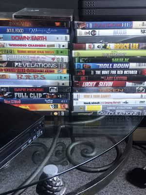 Classic DVDs and DVD player for Sale in Ocoee, FL