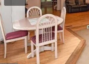 Mini dining with chairs for Sale in Gaithersburg, MD