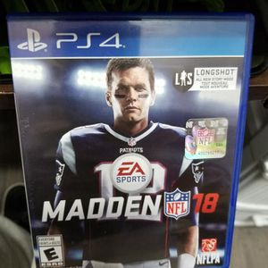 Madden 18 Ps4 for Sale in Modesto, CA
