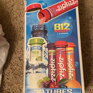 Zip Fizz Energy Mix - 30 Tubes for Sale in Folsom, CA
