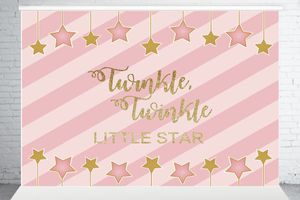 birthday party photography background twinkle little star little prince pink children backdrop for Sale in Fontana, CA